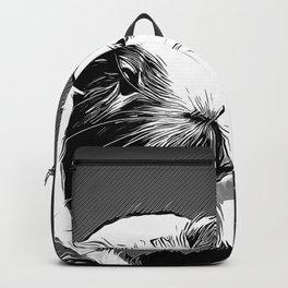 guinea pig va bw Backpack