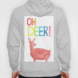 Oh Deer (Watercolor) Hoody