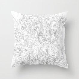 Meadow III Throw Pillow