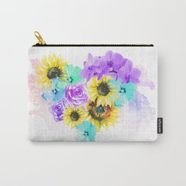 Floral Overdose Carry-All Pouch