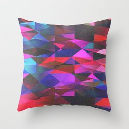 Geo BP. Throw Pillow
