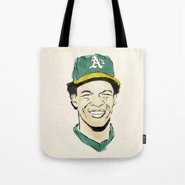 "Rickey ""The Man of Steal"" Henderson Tote Bag"