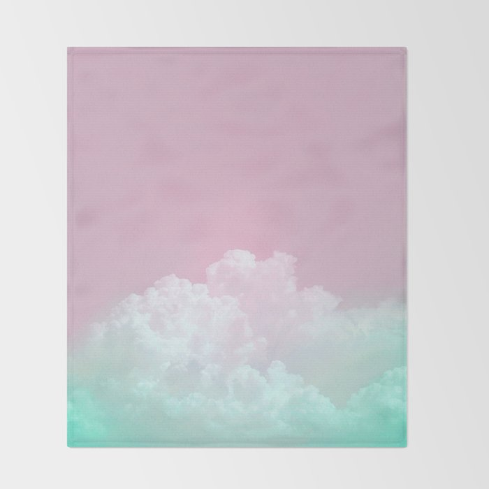 Dreamy Candy Sky Throw Blanket