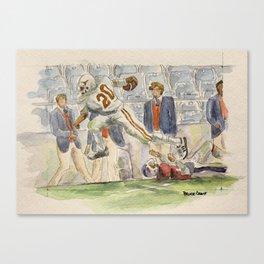 Earl Campbell Runningback Football Canvas Print