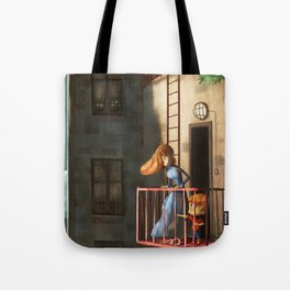 Mummy Look There! Tote Bag