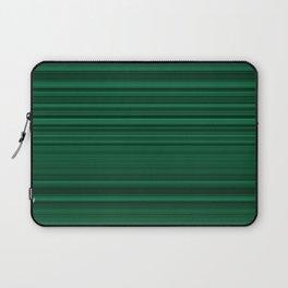 Classic Green Stripes Laptop Sleeve