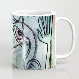 Abstract Nude Goddess No. 40N by Kathy Morton Stanion Coffee Mug
