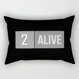2 Alive Rectangular Pillow