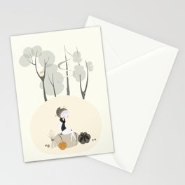 Our Elf of the Harvest Stationery Cards