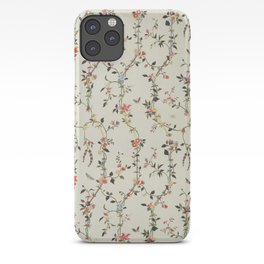 Floral Piece late 18th century Chinese for French market iPhone Case