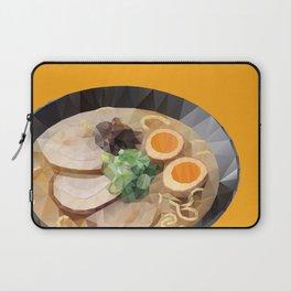 Japanese Tonkotsu Ramen Polygon Art Laptop Sleeve