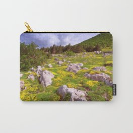 Spring On Velebit Carry-All Pouch