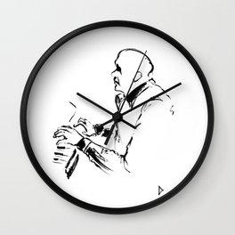Jazz piano Wall Clock