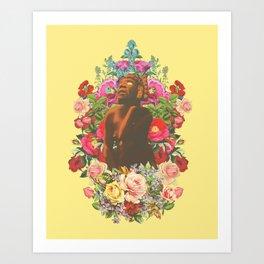 Las flores de Toci Art Print