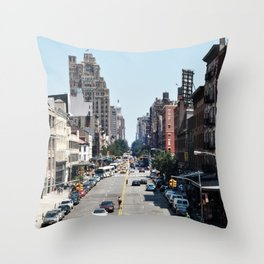 From the High Line Throw Pillow