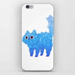 Crystal Cat iPhone Skin