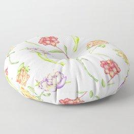 Flower Showers Floor Pillow