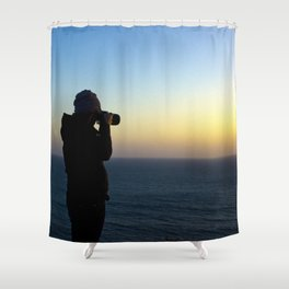 Capturing Sunsets Shower Curtain