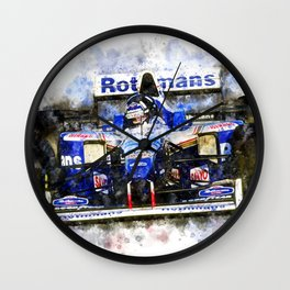 Damon Hill Wall Clock
