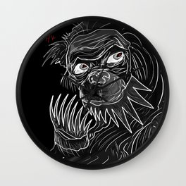 The Ape Was A Great Big Hit Wall Clock