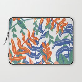 Abstract Tropical Pattern Laptop Sleeve