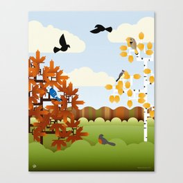 A Fine Autumnal Day Canvas Print