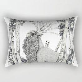 Forest Spirit Rectangular Pillow