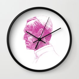 The Young Pope Portrait Wall Clock