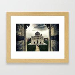 Pisa Cathedral Framed Art Print