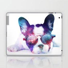 Space Frenchie  Laptop & iPad Skin