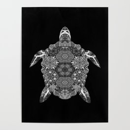 see the turtle sea Poster