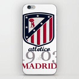 Atletico Madrid club football iPhone Skin