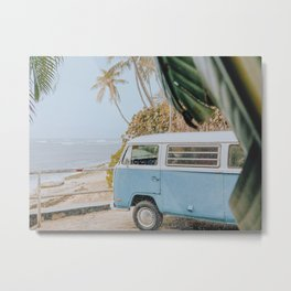 Summer Van II Metal Print