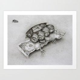 Paper Weight Art Print