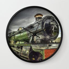 Steam Locomotive 4936 Kinlet Hall Wall Clock