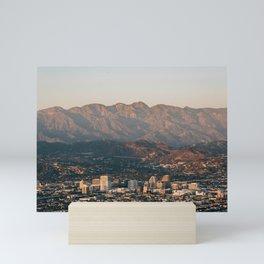 Over Glendale Mini Art Print