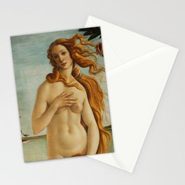 The Birth of Venus detail Stationery Cards