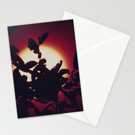 Bird of Paradise Moon Stationery Cards
