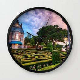 Disneyworld  Sunset Wall Clock