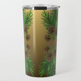 Pine Boughs Travel Mug