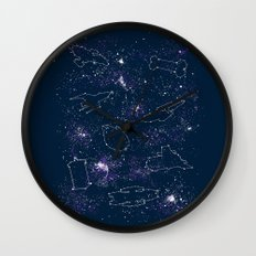 Star Ships Wall Clock