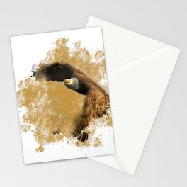 Bald Eagle In Flight Stationery Cards
