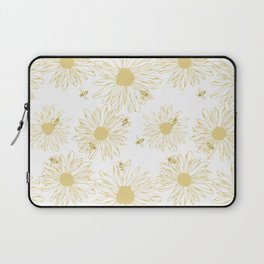 The Bees Knees - Yellow Laptop Sleeve
