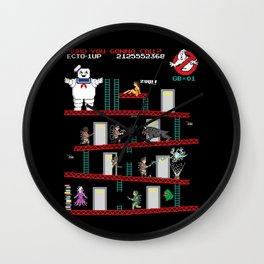 Donkey Puft Wall Clock