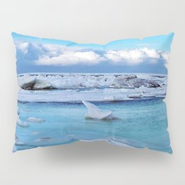 Frozen, and clouds on the Horizon Pillow Sham