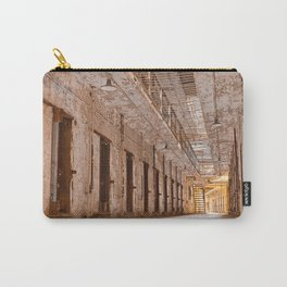 Glowing Prison Corridor Carry-All Pouch