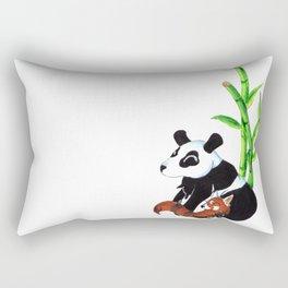 Panda Duo Rectangular Pillow