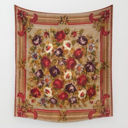 Antique Russian Bessarabian Rug Wall Tapestry