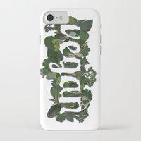 vegan iPhone & iPod Cases featuring Vegan by Kopie Creative
