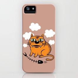 FAT CAT iPhone Case